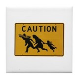 Funny Immigration Tile Coaster