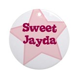 Sweet Jayda Ornament (Round)