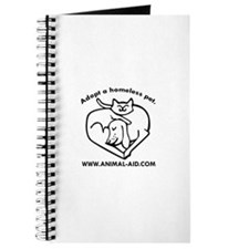 Cute Pets animals art cat Journal