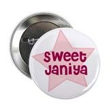 "Sweet Janiya 2.25"" Button (100 pack)"