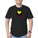 Breast cancer awareness chick Men's Fitted T-Shirt
