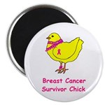 Breast cancer awareness chick Magnet