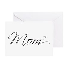 Mom of 7 Greeting Card