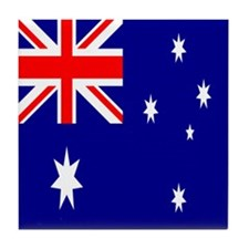 Australian Flag Tile Coaster