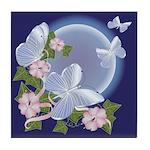 Butterfly Moon Tile Coaster
