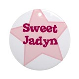 Sweet Jadyn Ornament (Round)