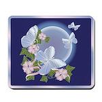 Butterfly Moon Mousepad