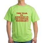 Knocked Up Costume Green T-Shirt