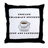 CaffeineThrow Pillow