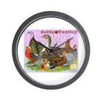 Gotta Love Poultry Wall Clock
