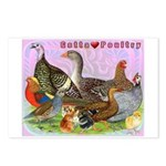Gotta Love Poultry Postcards (Package of 8)
