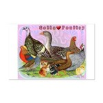 Gotta Love Poultry Mini Poster Print