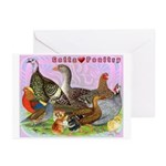 Gotta Love Poultry Greeting Cards (Pk of 10)