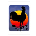 Sunrise Rooster Postcards (Package of 8)