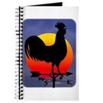 Sunrise Rooster Journal