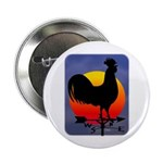 """Sunrise Rooster 2.25"""" Button"""