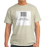 I can be bought UPC Ash Grey T-Shirt
