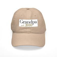 New Grandpa 2010 Baseball Cap