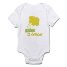 Funny Flint Infant Bodysuit