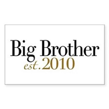New Big Brother 2010 Rectangle Decal