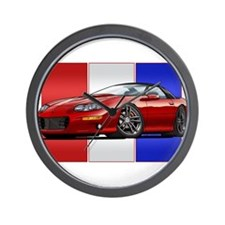 98-02 Red Camaro Wall Clock