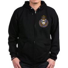 Chaplain Crest Zip Hoodie