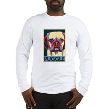 Vote Puggle! - Long Sleeve T-Shirt