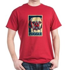 Vote Puggle! - T-Shirt