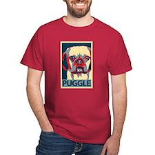 Vote Puggle! - T-Shirt