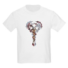 Tribal Dragons Kids T-Shirt