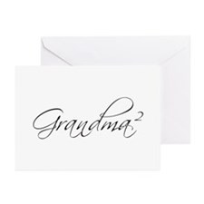 Grandma Squared Greeting Cards (Pk of 20)