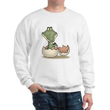 Alligator Baby Hatching Sweatshirt