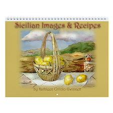 Sicilian Art & Recipe Calendar
