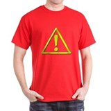 Yellow Caution ! T-Shirt