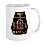 USS Georgia SSBN 729 US Navy Ship Large Mug