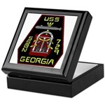 USS Georgia SSBN 729 US Navy Ship Keepsake Box