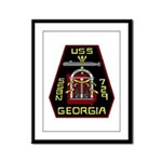 USS Georgia SSBN 729 US Navy Ship Framed Panel Pri