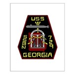 USS Georgia SSBN 729 US Navy Ship Small Poster