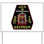 USS Georgia SSBN 729 US Navy Ship Yard Sign