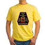 USS Georgia SSBN 729 US Navy Ship Yellow T-Shirt