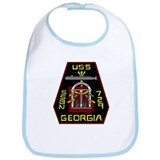 USS Georgia SSBN 729 US Navy Ship Bib