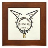 Hoquiam Ironworks Framed Tile