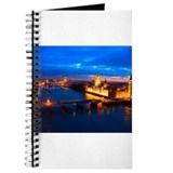 Cityscape of London at Night Journal