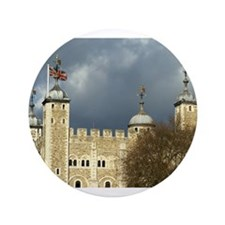 "Tower of London 3.5"" Button"