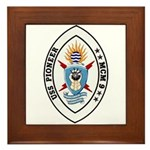 USS Pioneer MCM 9 US Navy Ship Framed Tile