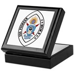 USS Pioneer MCM 9 US Navy Ship Keepsake Box