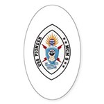 USS Pioneer MCM 9 US Navy Ship Sticker (Oval 50 pk