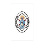 USS Pioneer MCM 9 US Navy Ship Rectangle Sticker