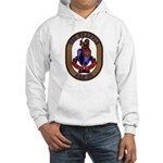USS Grapple ARS 53 US Navy Ship Hooded Sweatshirt