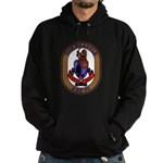 USS Grapple ARS 53 US Navy Ship Hoodie (dark)